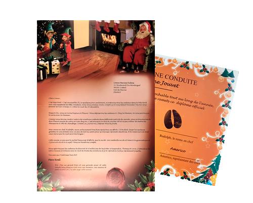 Lettre Au Pere Noel Personnalise.Lettre Du Pere Noel 2019 Pere Noel Repond A Votre Lettre
